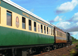 Livingstone Train Carriage
